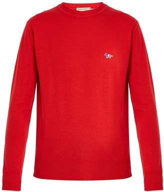 MAISON KITSUNÉ Crew-neck wool sweater
