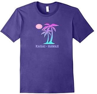 Kauai Hawaii Souvenir TShirt Tropical Palm Tree Hawaiian