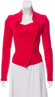 Roland Mouret Knit Asymmetrical Jacket