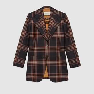 Gucci Tartan jacket