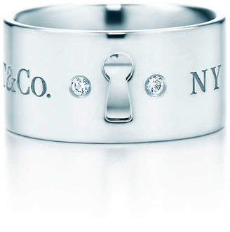 Tiffany & Co. Locks wide ring