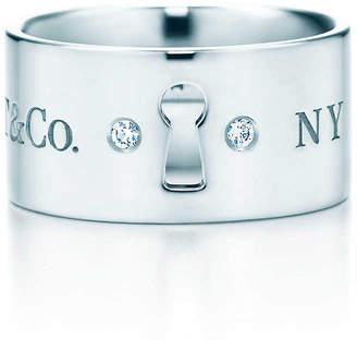 Tiffany & Co. Locks wide ring