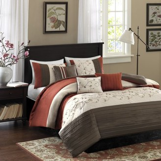Madison Home USA Home Essence Monroe 6-Piece Bedding Duvet Cover Set
