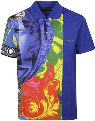 Versace Magna Grecia Polo Shirt