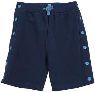 Stella McCartney Cotton Sweat Shorts W/ Snap Buttons