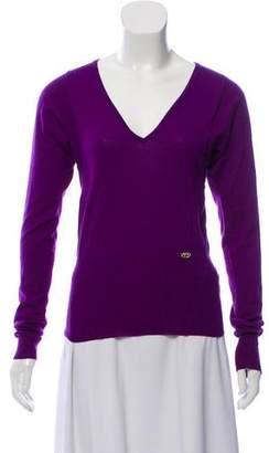 Gucci Rib Knit Cashmere Sweater