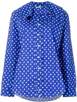 Marni scribble pattern blouse