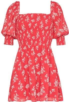 Reformation Elee mini floral print dress