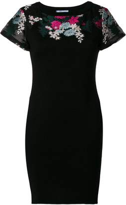 Blumarine floral embroidered dress