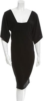 Jean Paul Gaultier Short Sleeve Mini Dress w/ Tags $225 thestylecure.com
