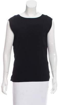 Kaufman Franco Kaufmanfranco Sleeveless V-Back Sweater w/ Tags