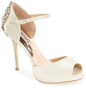 Badgley Mischka Collection 'Dawn' Crystal Back d'Orsay Pump