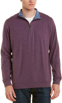 J.Mclaughlin Clermont 1/4-Zip Pullover