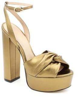 Rachel Zoe Claudette Leather Platform Sandals