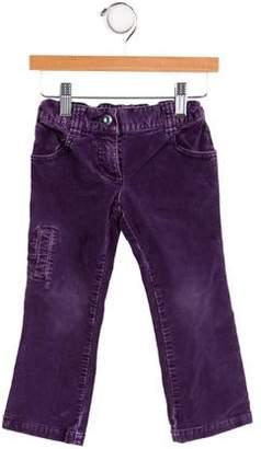 Kenzo Girls' Five Pocket Velvet Pants