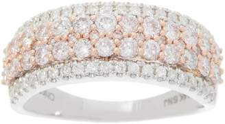 Affinity Diamond Jewelry Affinity Diamond Natural Pink Diamond Band Ring, 1.00 cttw, 14K