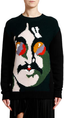 Stella McCartney John Lennon Intarsia Sweater
