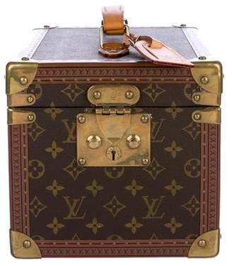 Louis Vuitton Vintage Monogram Vanity Trunk