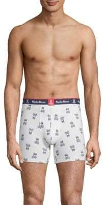 Psycho Bunny Printed Knit Boxer Brief