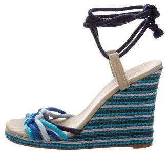 Marc Jacobs Lace-Up Wedge Sandals