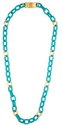 Michael Kors Resin Link Chain Necklace