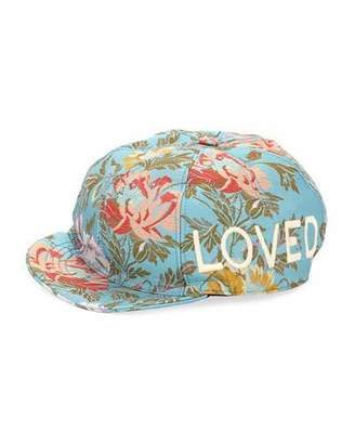 Gucci Loved Floral Jacquard Baseball Cap