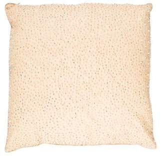 Dransfield and Ross Beaded Throw Pillow