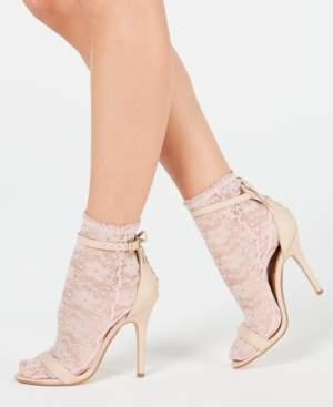 Hue Lace Anklet Socks
