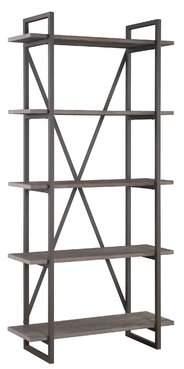 Brayden Studio Thole Metal Etagere Bookcase