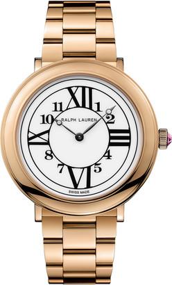 Ralph Lauren 32 MM Rose Gold Bracelet