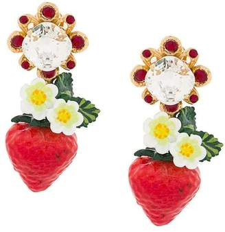 Dolce & Gabbana 'Strawberry' earrings