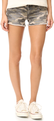 True Religion Keira Low Rise Shorts $149 thestylecure.com