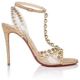 Christian Louboutin Women's Faridaravie Leather & PVC Sandals