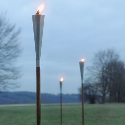 Garden Torches - Stainless Steel