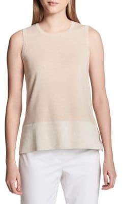Calvin Klein Heathered Sleeveless Sweater