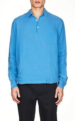 Barena Venezia Men's Linen Long-Sleeve Shirt