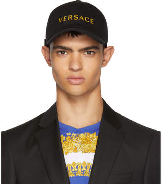 Versace Black Logo Cap