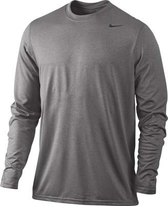 Nike Legend Dri-Fit Tee Long Sleeve - Grey - 377780-091-L
