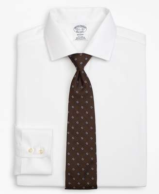 Brooks Brothers Regent Fitted Dress Shirt, Non-Iron Parquet
