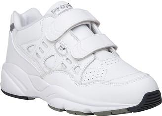 Propet Men's Leather Walking Sneakers - Stability Walker Stra