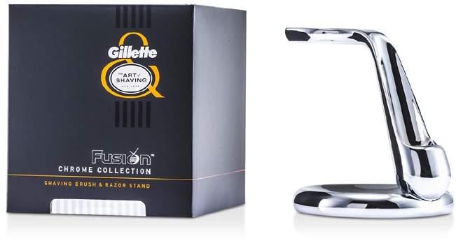 The Art Of Shaving Fusion Chrome Collection For Shaving Brush & Razor Stand
