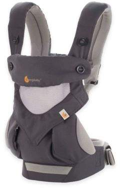ErgobabyTM Four-Position 360 Cool Air Baby Carrier in Carbon Grey $179.99 thestylecure.com