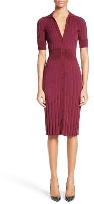 Women's Altuzarra Olivia Knit Shirtdress $995 thestylecure.com