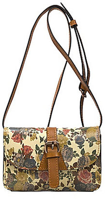Patricia Nash Denim Fields Collection Torri Floral Mini Cross-Body Bag $109 thestylecure.com