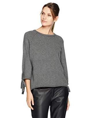 Velvet by Graham & Spencer Women's Nicolette Cashmere Classic Sweater