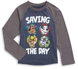 Licensed Tees Little Boy's Kids Graphic Front Long-Sleeve Top