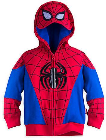 Spider-Man Zip Hoodie for Boys