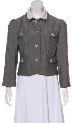 Peter Som Structured Button-Up Jacket
