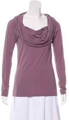 Ralph Lauren Cowl Neck Long Sleeve Top
