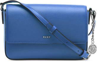 DKNY Saffiano Leather Bryant Flap Crossbody